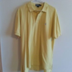POLO Ralph Lauren yellow polo - mens large